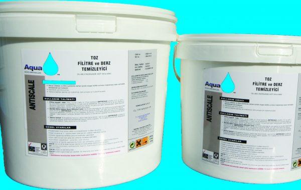 ANTISCALE (toz filre ve satıh temizleyici)