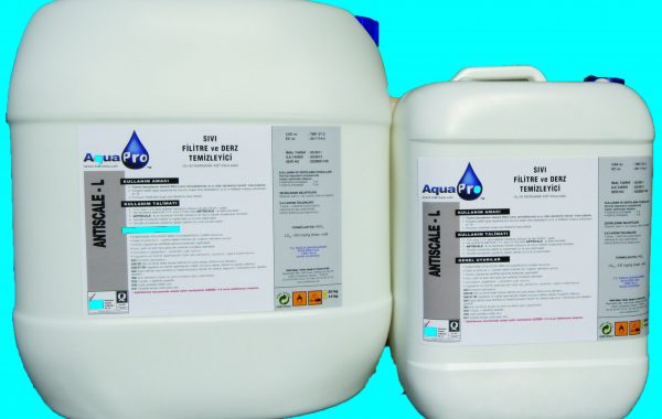 ANTISCALE (sıvı filtre ve satıh temzileyici)